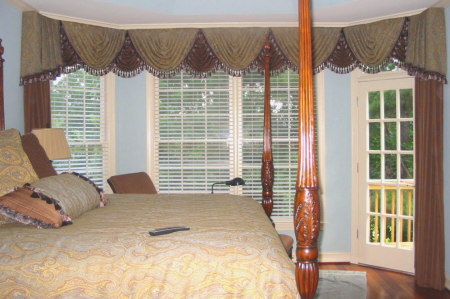 Bedroom - Complete Make over - Window Treatments, etc.
