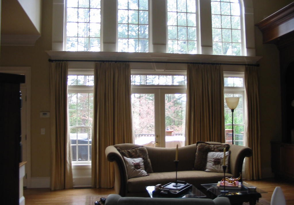 Beautiful Window Treatments before-after photos | julia's custom windows & renovations