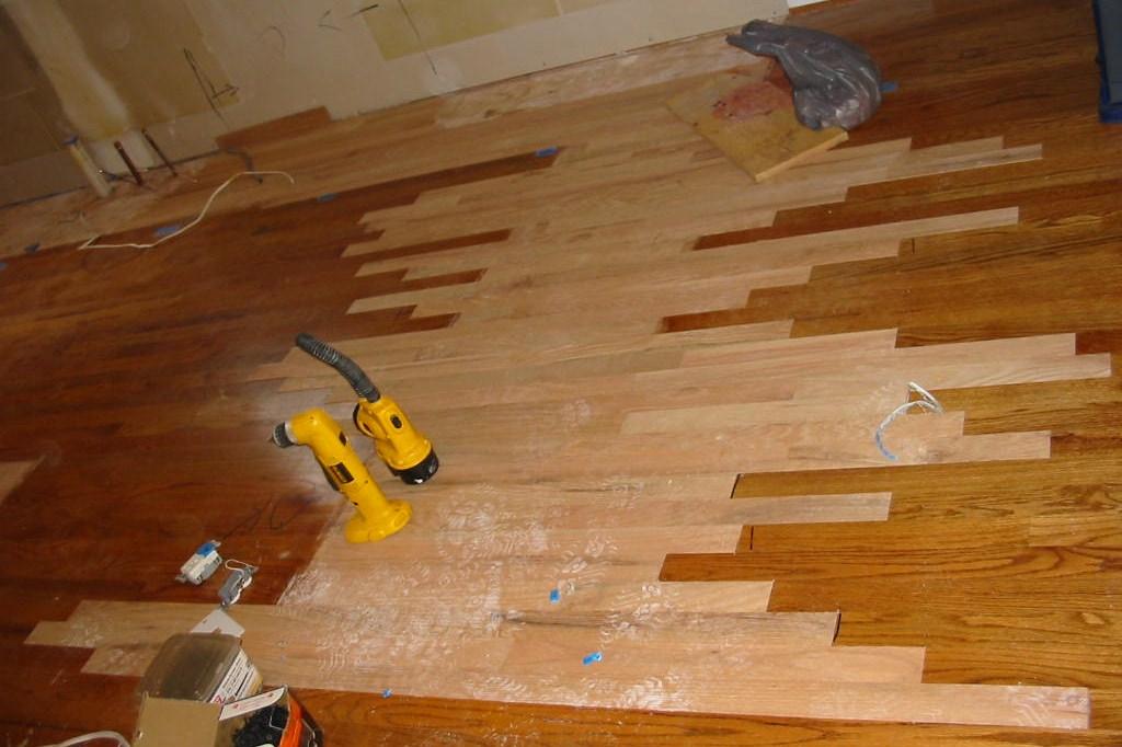Before New Hardward Floors were refinished.