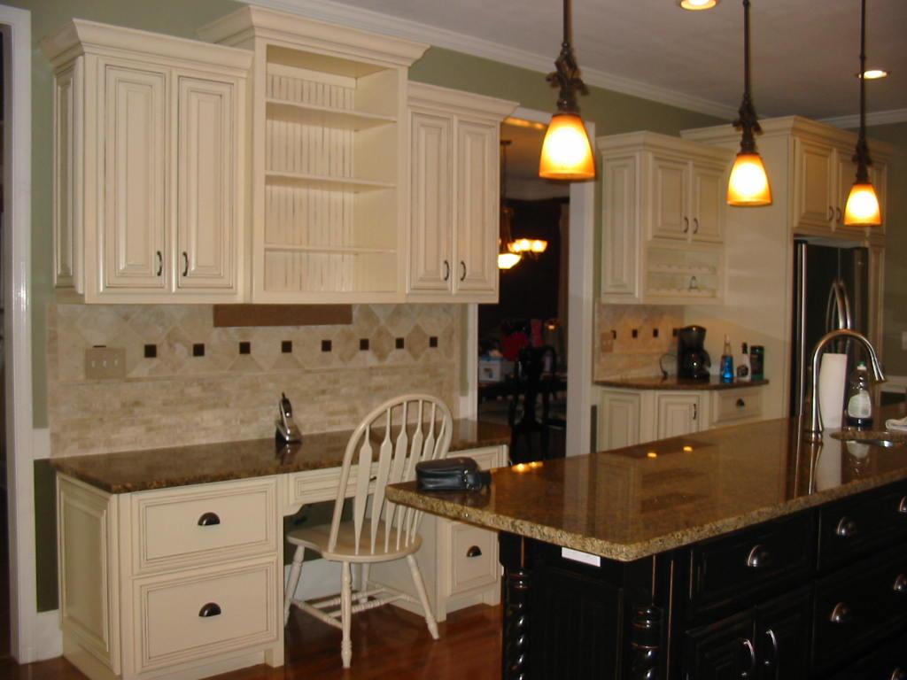 After 23 day Make over , Granite, Lighting, Cabinets, etc.