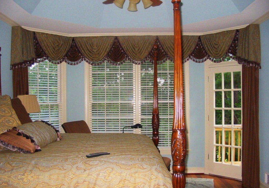 After Master Bedroom, Bedding, Window Treatments