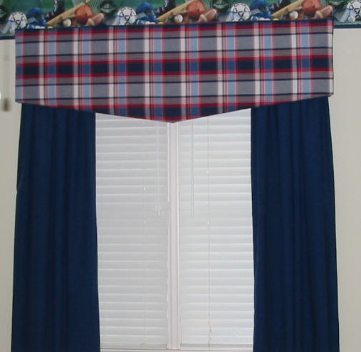 Boy's Room - Cornice Board w/panels & more!