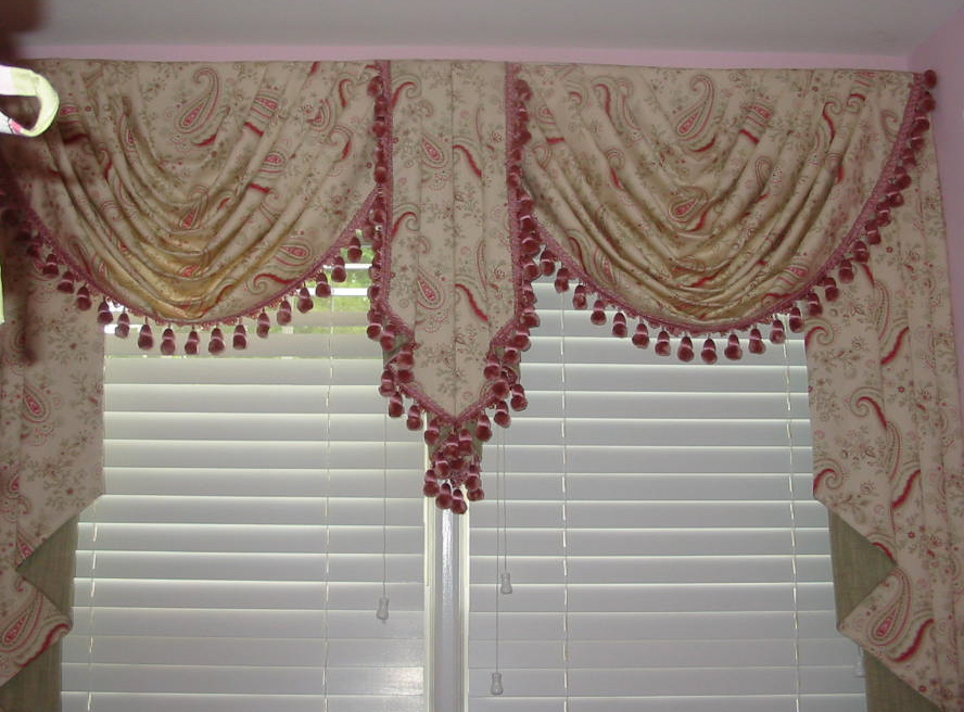 Girl's Room - Fancy Window Treatments, and more!