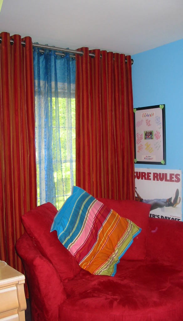Teen Room - Cool Window Treatments & more!