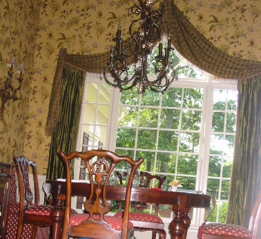 Dining Room - Wallpaper, Window Treatments, Furniture, etc.!