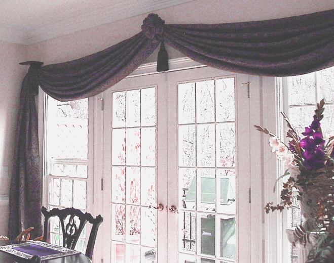 Dining Room - Beautiful Window Treatments and more!