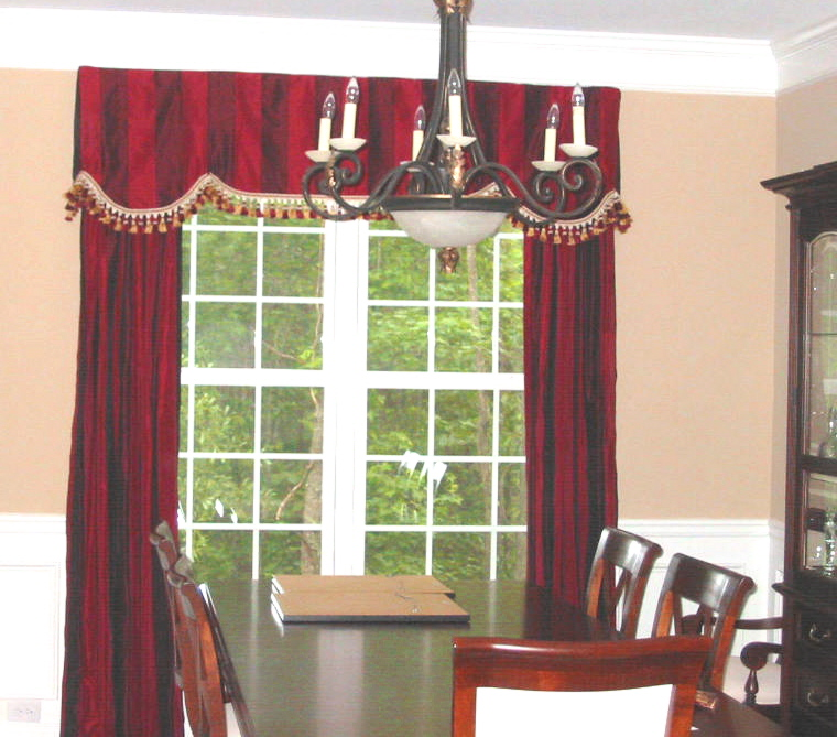 Dining Room - Elegant Window Treatments and more!
