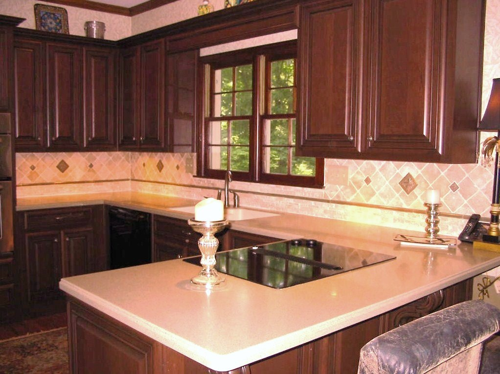 Kitchen - Renovation - Highlighting Tile backsplash, etc.