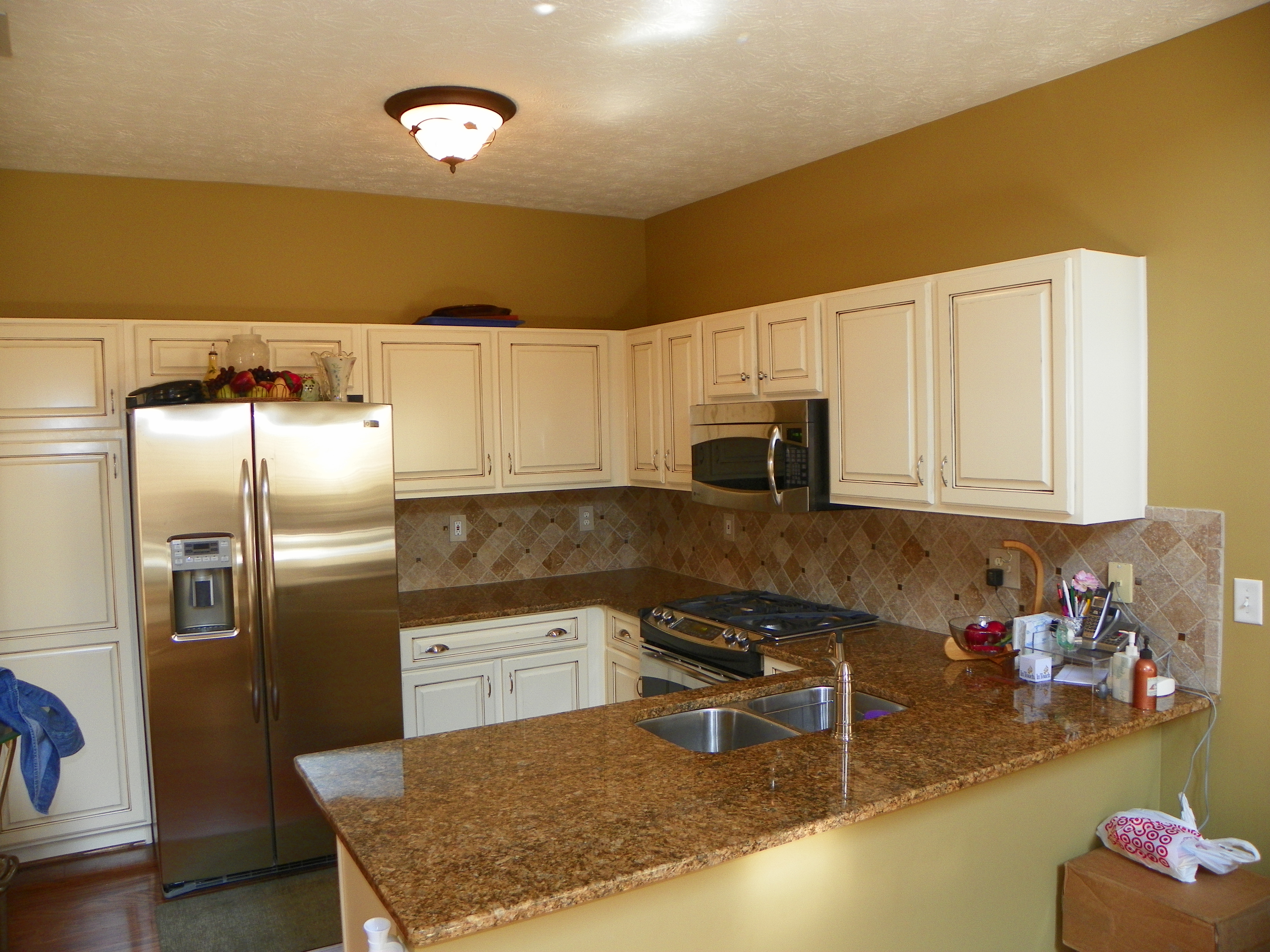 Kitchen remodeling with appliances, granite and more.