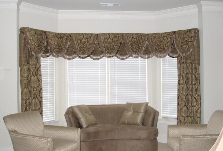 Living Room - Beautiful Window Treatments