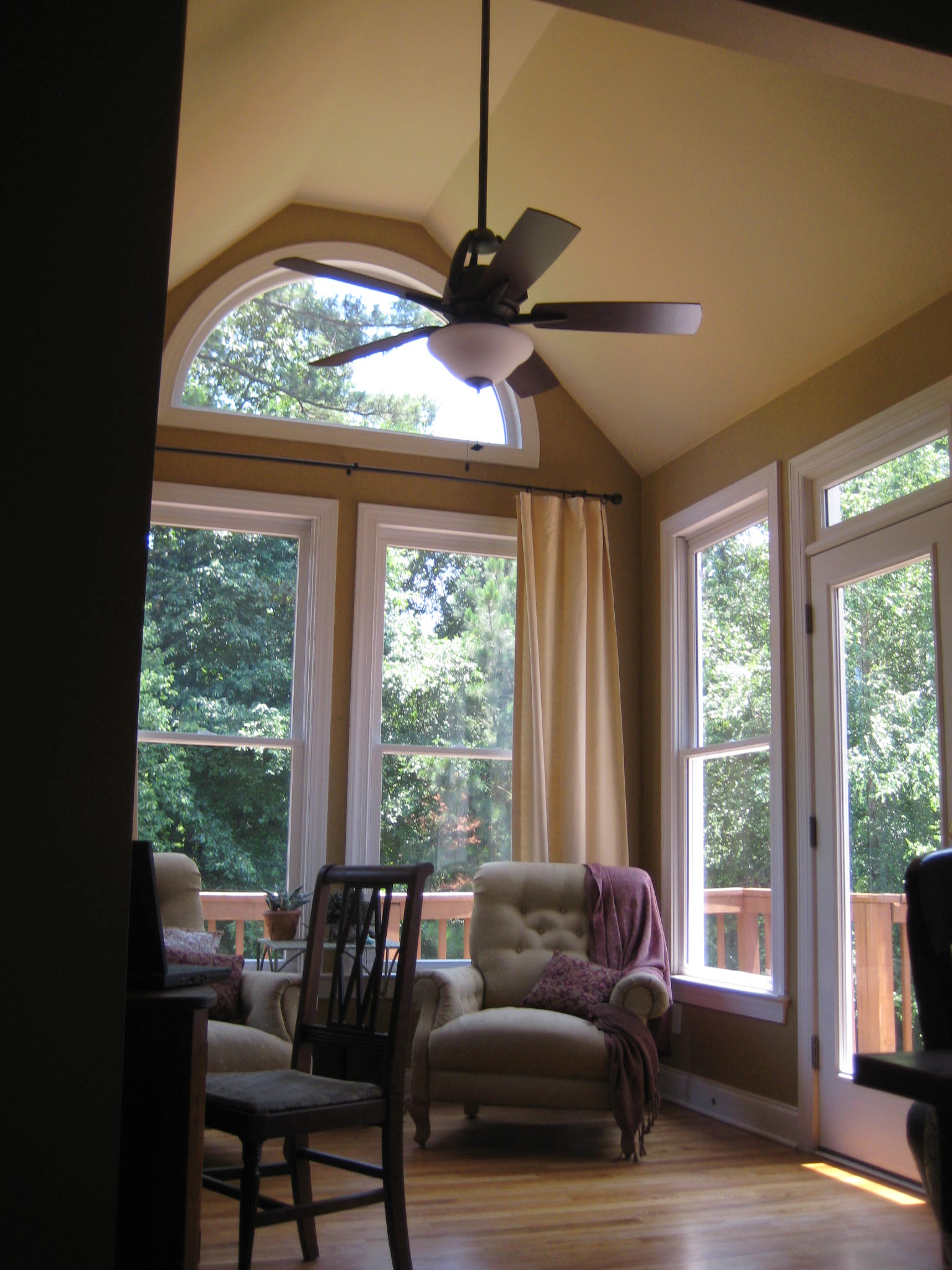 Cool off with updated ceiling fan.